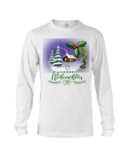 GERMAN MERRY CHRISTMAS  Long Sleeve Tee thumbnail