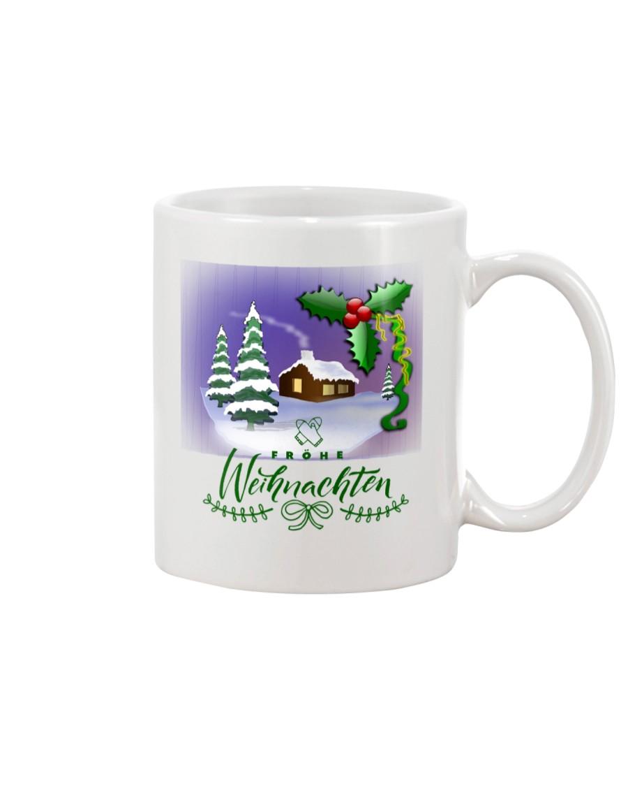 GERMAN MERRY CHRISTMAS  Mug