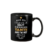 BACK OFF I HAVE A CRAZY GERMAN TANTE Mug thumbnail