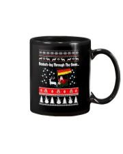 GERMAN CHRISTMAS SWEATER PATTERN FUNNY Mug thumbnail