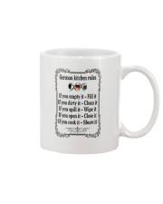 GERMAN KITCHEN RULES Mug thumbnail