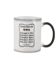 GERMAN KITCHEN RULES Color Changing Mug thumbnail