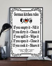 GERMAN KITCHEN RULES 11x17 Poster lifestyle-poster-2