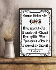 GERMAN KITCHEN RULES 11x17 Poster lifestyle-poster-3
