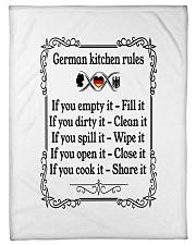"GERMAN KITCHEN RULES Small Fleece Blanket - 30"" x 40"" thumbnail"