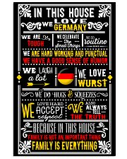 GERMAN HOUSE 24x36 Poster front