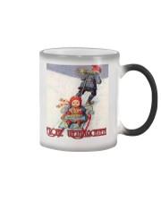GERMAN MERRY CHRISTMAS Color Changing Mug thumbnail