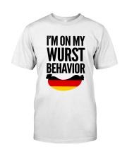 WURST BEHAVIOR Classic T-Shirt thumbnail
