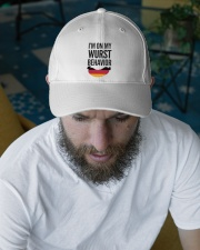 WURST BEHAVIOR Embroidered Hat garment-embroidery-hat-lifestyle-06