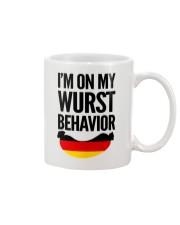 WURST BEHAVIOR Mug thumbnail