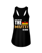 HAVE NO FEAR MUTTI IS HERE Ladies Flowy Tank tile