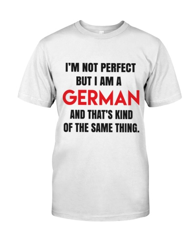 I AM A GERMAN