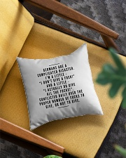 GERMANS ARE A COMPLICATED DISASTER Square Pillowcase aos-pillow-square-front-lifestyle-07
