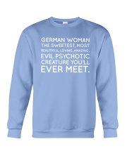 GERMAN WOMAN Crewneck Sweatshirt thumbnail