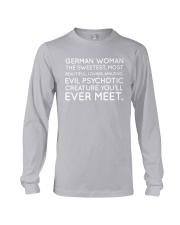 GERMAN WOMAN Long Sleeve Tee thumbnail