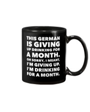 THIS GERMAN IS GIVING UP DRINKING FOR A MONTH  Mug thumbnail