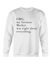 MY GERMAN MOTHER Crewneck Sweatshirt thumbnail