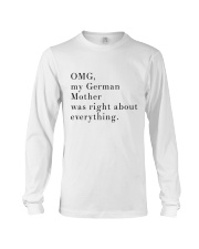 MY GERMAN MOTHER Long Sleeve Tee thumbnail