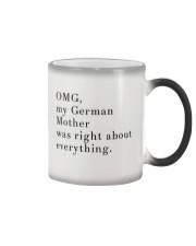 MY GERMAN MOTHER Color Changing Mug thumbnail