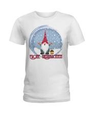 GERMAN MERRY CHRISTMAS Ladies T-Shirt thumbnail