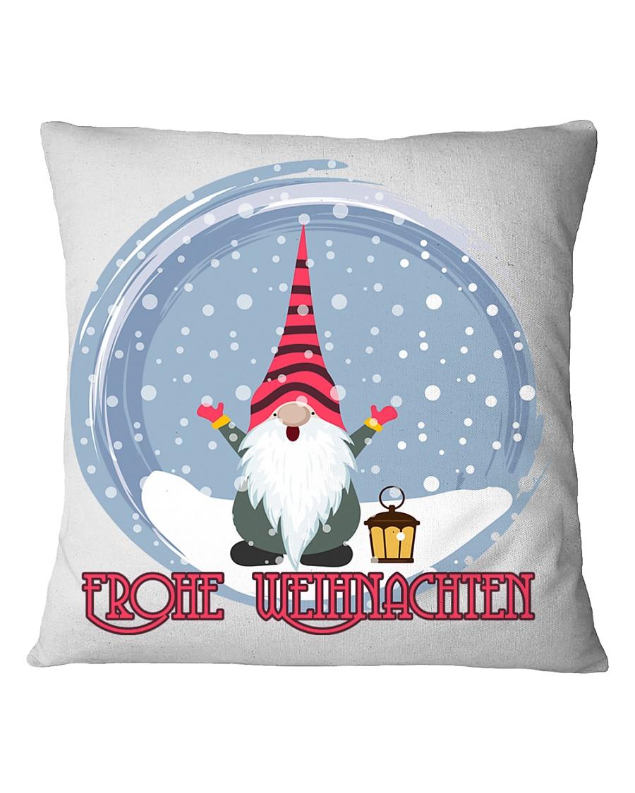 GERMAN MERRY CHRISTMAS Square Pillowcase