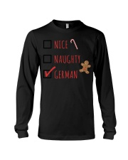 NICE NAUGHTY GERMAN Long Sleeve Tee tile