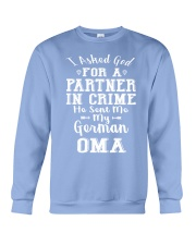 OMA FUNNY PARTNER IN CRIME Crewneck Sweatshirt thumbnail