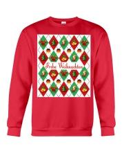 FROHE WEIHNACHTEN GERMAN CHRISTMAS Crewneck Sweatshirt thumbnail