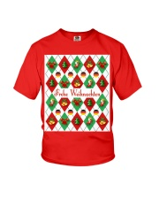 FROHE WEIHNACHTEN GERMAN CHRISTMAS Youth T-Shirt thumbnail