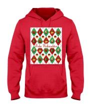 FROHE WEIHNACHTEN GERMAN CHRISTMAS Hooded Sweatshirt thumbnail