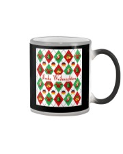 FROHE WEIHNACHTEN GERMAN CHRISTMAS Color Changing Mug thumbnail