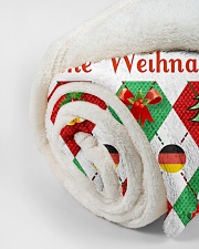 "FROHE WEIHNACHTEN GERMAN CHRISTMAS Small Fleece Blanket - 30"" x 40"" aos-coral-fleece-blanket-30x40-lifestyle-front-18"