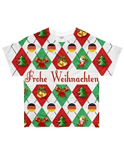 FROHE WEIHNACHTEN GERMAN CHRISTMAS All-over T-Shirt thumbnail