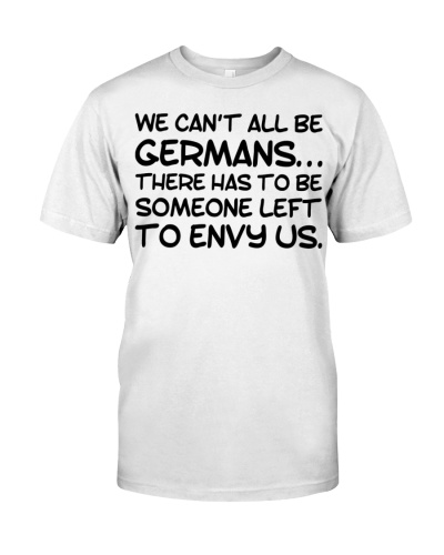WE CAN'T ALL BE GERMANS