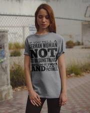 GERMAN WOMAN FUNNY Classic T-Shirt apparel-classic-tshirt-lifestyle-18