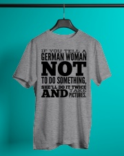 GERMAN WOMAN FUNNY Classic T-Shirt lifestyle-mens-crewneck-front-3