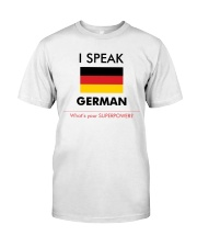 I SPEAK GERMAN Classic T-Shirt thumbnail
