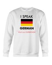 I SPEAK GERMAN Crewneck Sweatshirt thumbnail