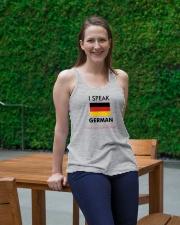I SPEAK GERMAN Ladies Flowy Tank lifestyle-bellaflowy-tank-front-1