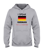 I SPEAK GERMAN Hooded Sweatshirt thumbnail