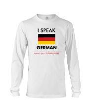 I SPEAK GERMAN Long Sleeve Tee thumbnail