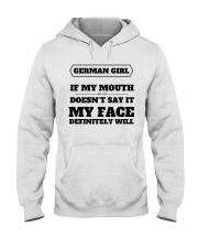 MY FACE Hooded Sweatshirt thumbnail