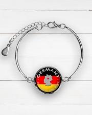 GERMANY STORY Metallic Circle Bracelet aos-bracelet-metal-front-lifestyle-2