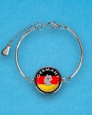 GERMANY STORY Metallic Circle Bracelet aos-bracelet-metal-front-lifestyle-3