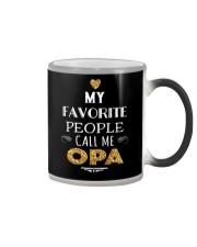 MY FAVORITE PEOPLE CALL ME OPA Color Changing Mug thumbnail