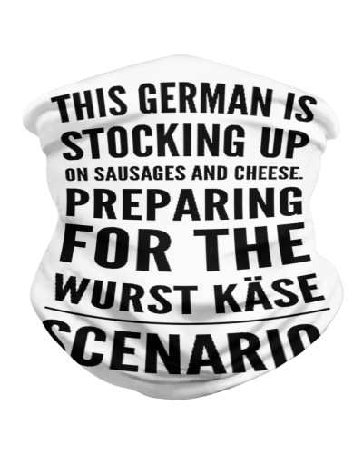 THIS GERMAN IS STOCKING UP ON SAUSAGES