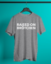 RAISED ON BROTCHEN Classic T-Shirt lifestyle-mens-crewneck-front-3