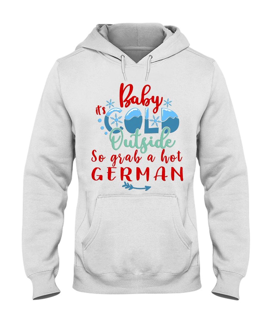 GERMAN CHRISTMAS Hooded Sweatshirt