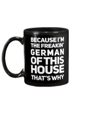 GERMAN OF THIS HOUSE Mug back