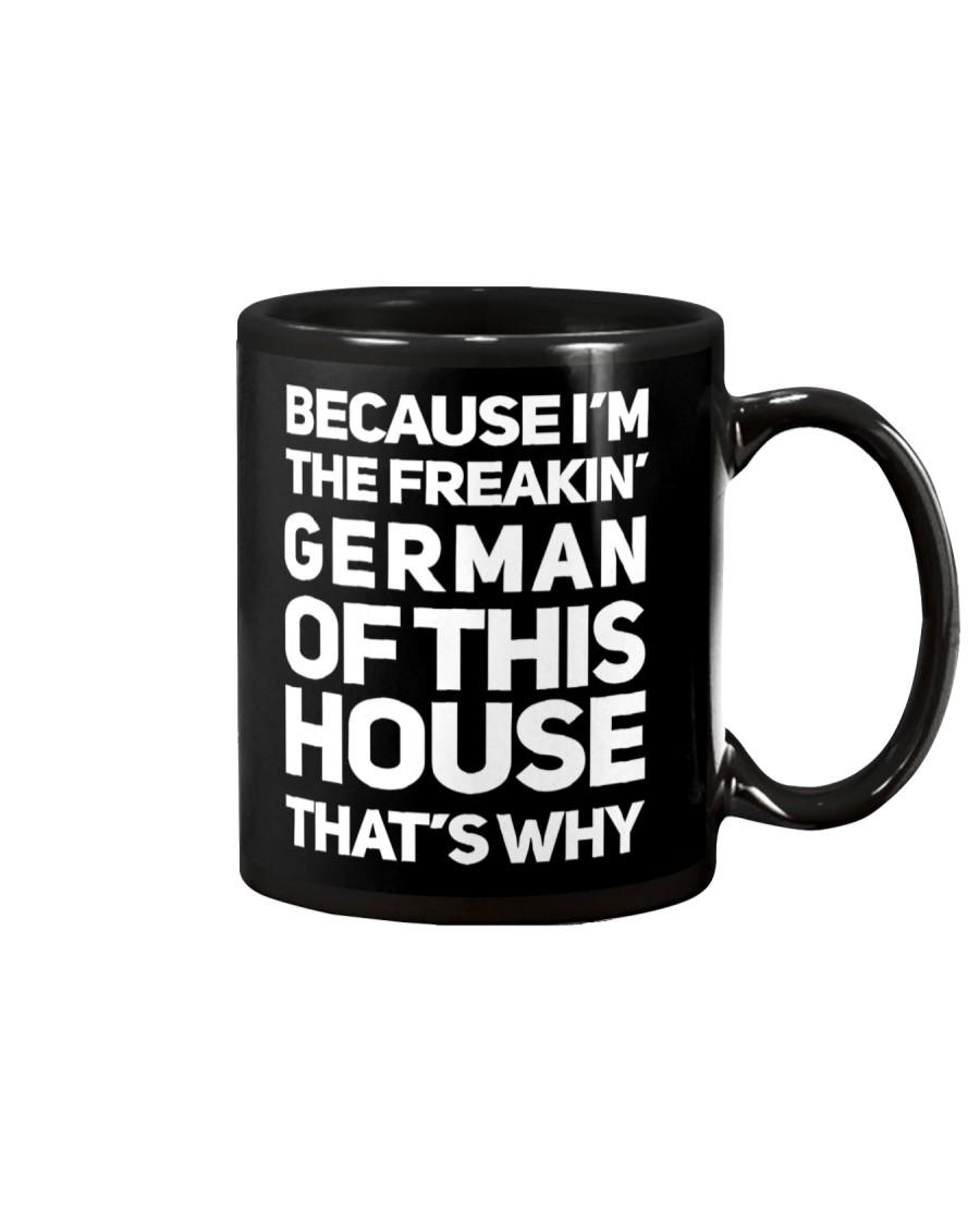 GERMAN OF THIS HOUSE Mug